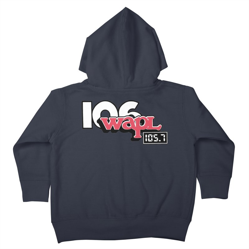 WAPL Digital Transition Logo Kids Toddler Zip-Up Hoody by 105.7 WAPL Web Store