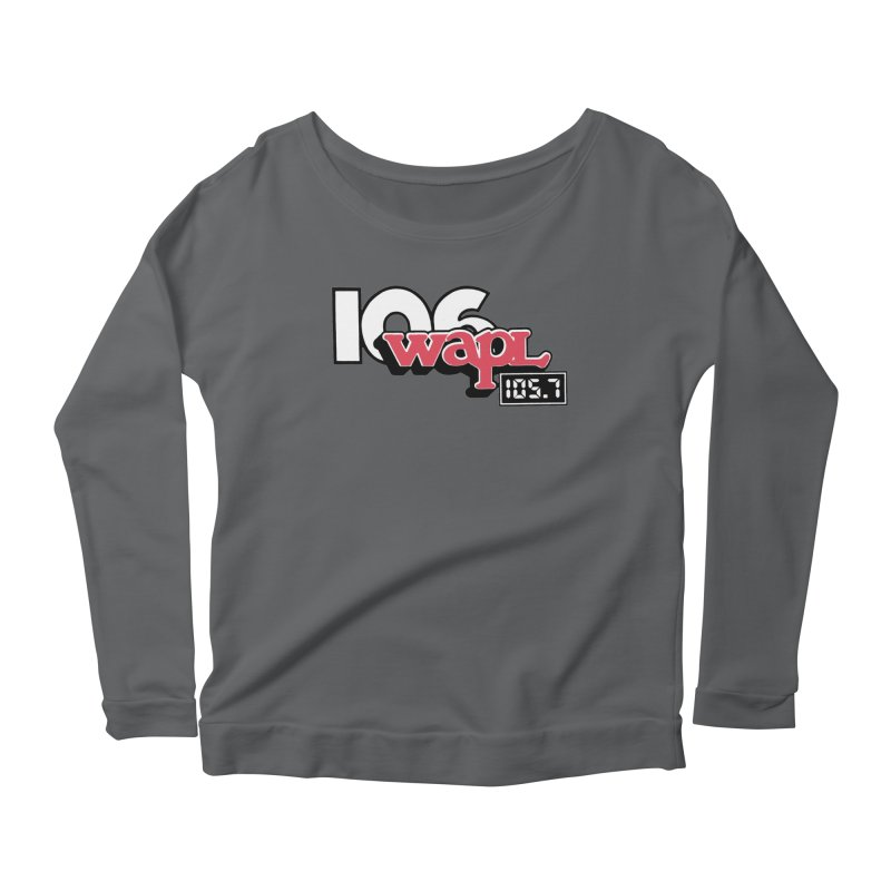 WAPL Digital Transition Logo Women's Longsleeve T-Shirt by 105.7 WAPL Store