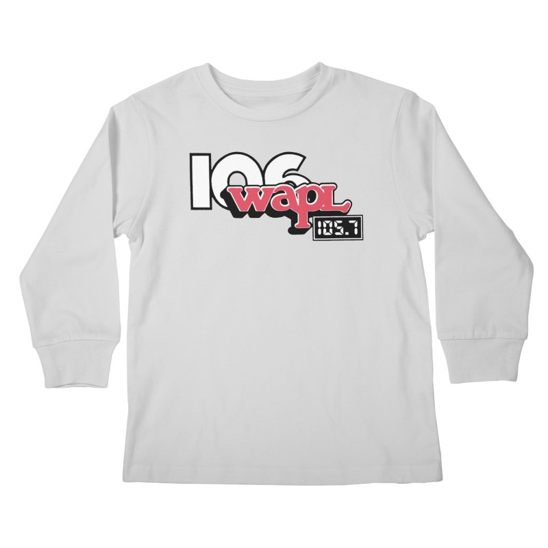WAPL Digital Transition Logo Kids Longsleeve T-Shirt by 105.7 WAPL Web Store