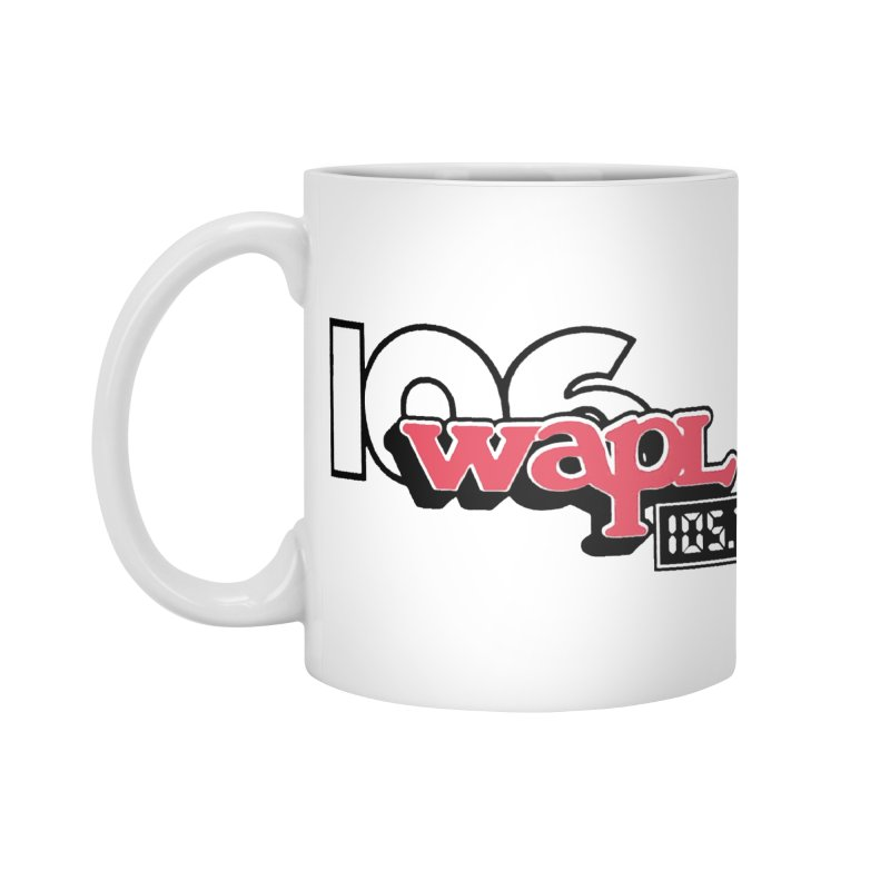 WAPL Digital Transition Logo Accessories Standard Mug by 105.7 WAPL Web Store