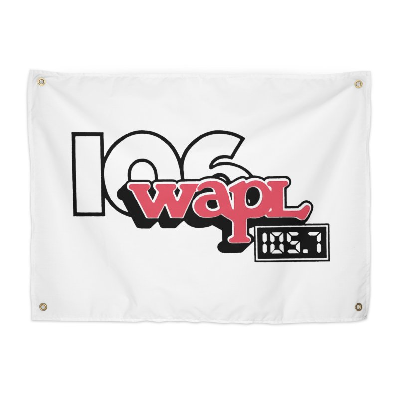 WAPL Digital Transition Logo Home Tapestry by 105.7 WAPL Web Store