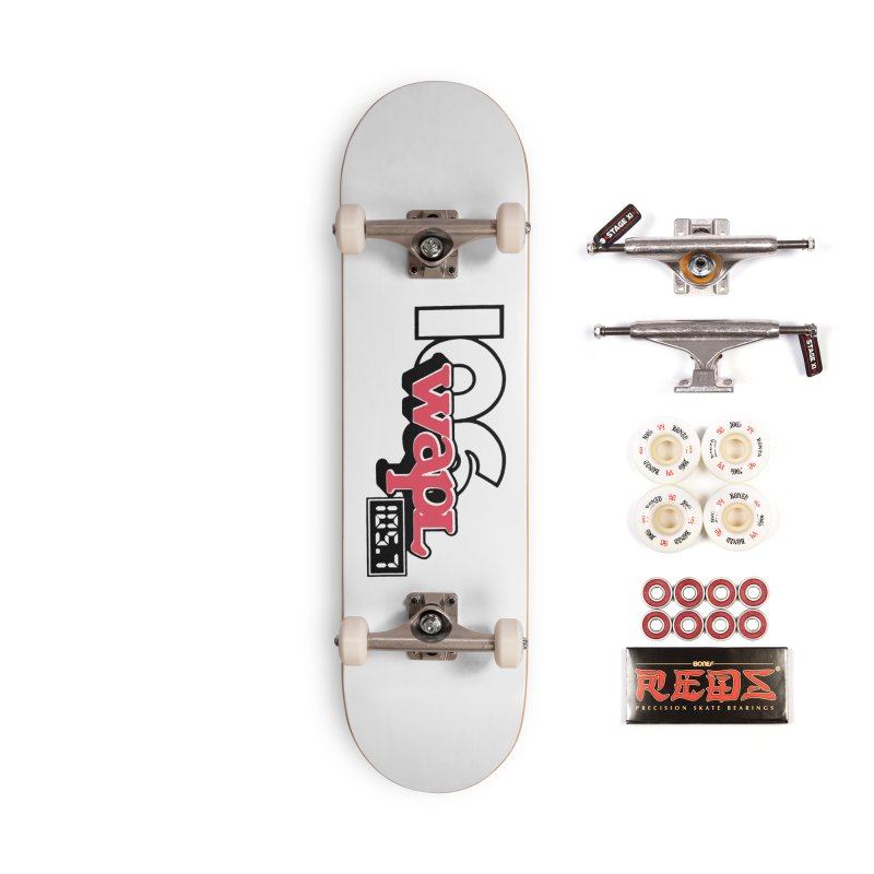 WAPL Digital Transition Logo Accessories Skateboard by 105.7 WAPL Web Store