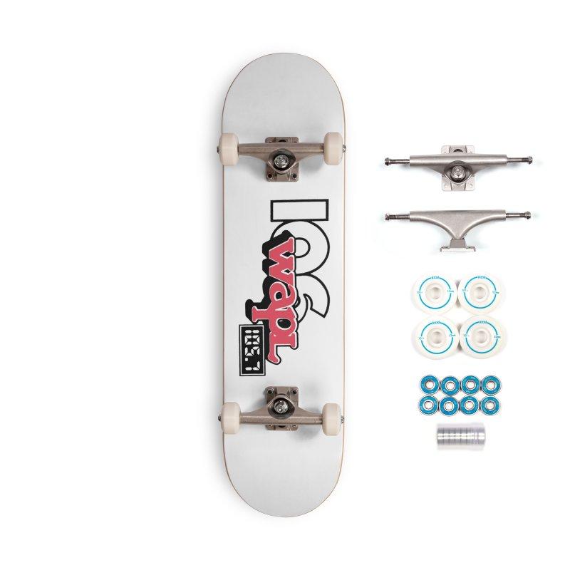 WAPL Digital Transition Logo Accessories Skateboard by 105.7 WAPL Store