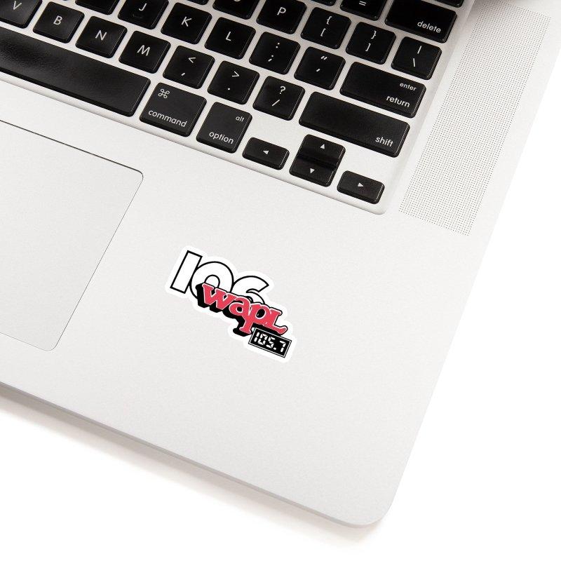 WAPL Digital Transition Logo Accessories Sticker by 105.7 WAPL Web Store