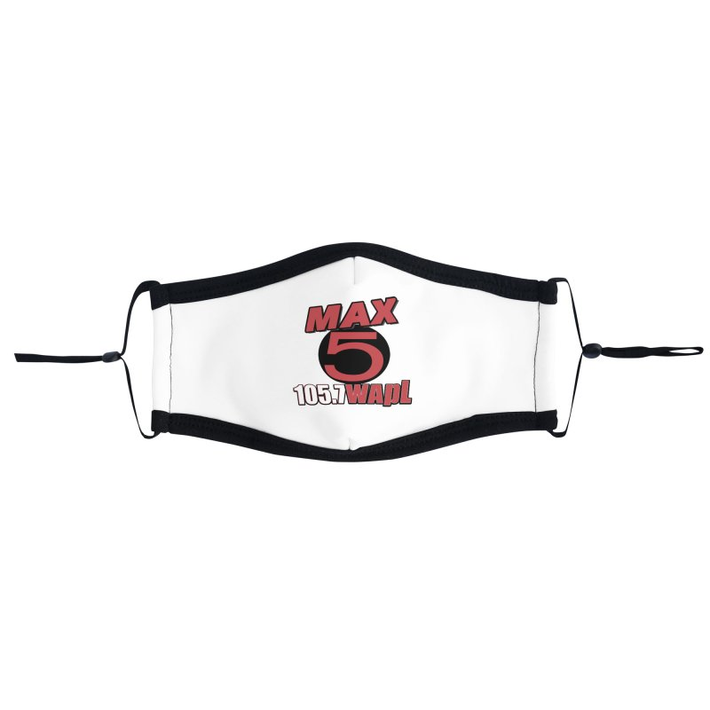 Max 5 Accessories Face Mask by 105.7 WAPL Store