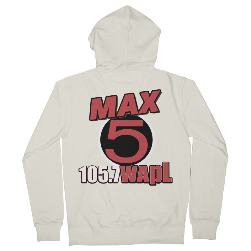 Max 5 Women's French Terry Zip-Up Hoody by 105.7 WAPL Web Store
