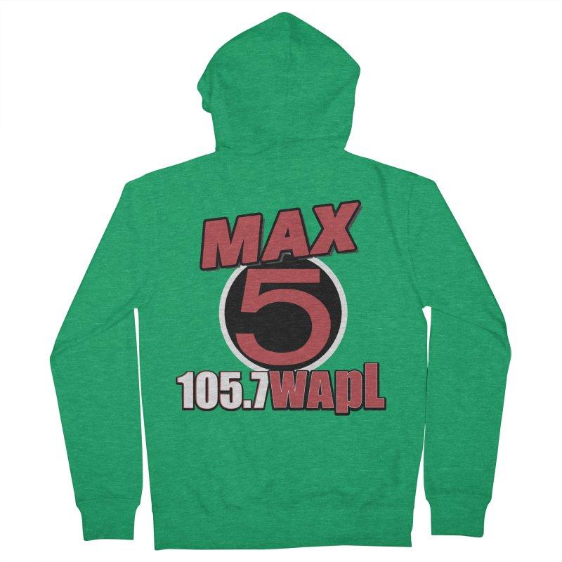 Max 5 Men's Zip-Up Hoody by 105.7 WAPL Store