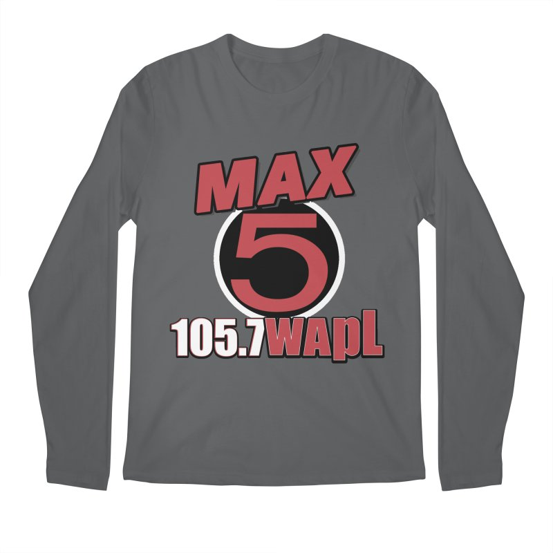 Max 5 Men's Longsleeve T-Shirt by 105.7 WAPL Store