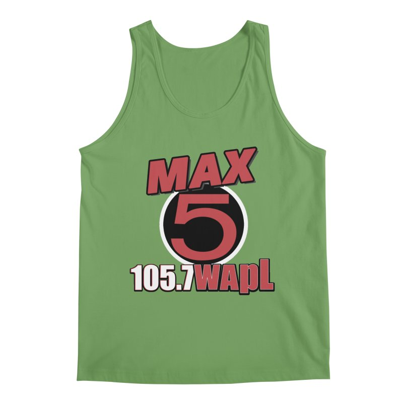 Max 5 Men's Tank by 105.7 WAPL Store