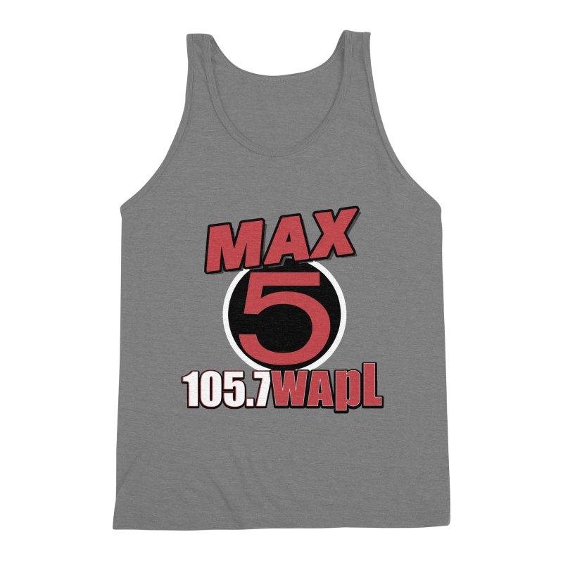 Max 5 Men's Triblend Tank by 105.7 WAPL Web Store