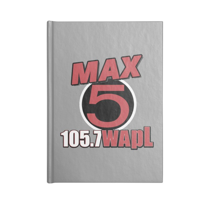 Max 5 Accessories Notebook by 105.7 WAPL Store