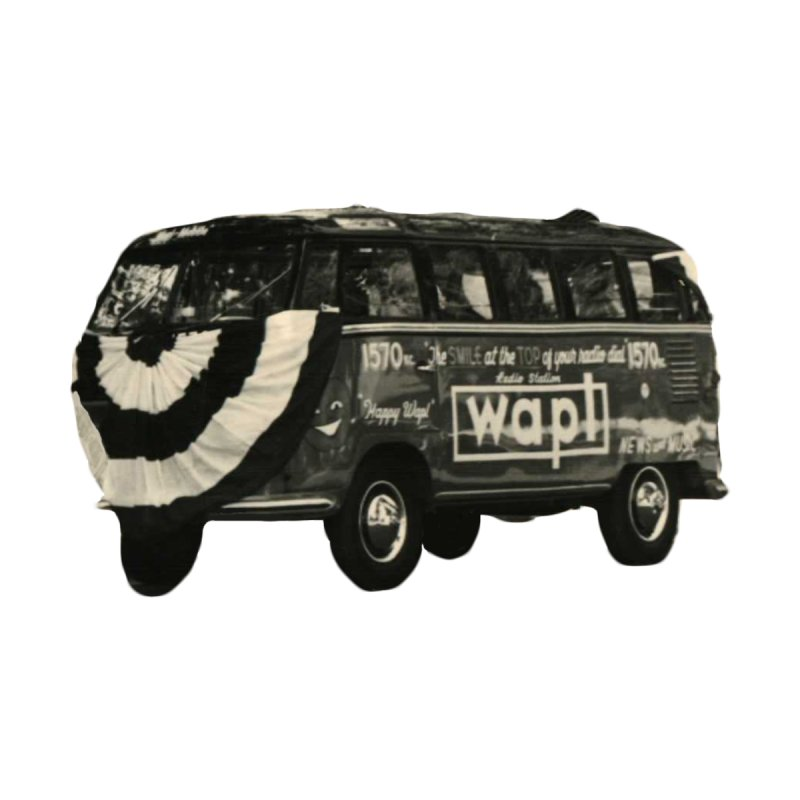 "WAPL-AM ""Old School"" Bus Men's V-Neck by 105.7 WAPL Store"