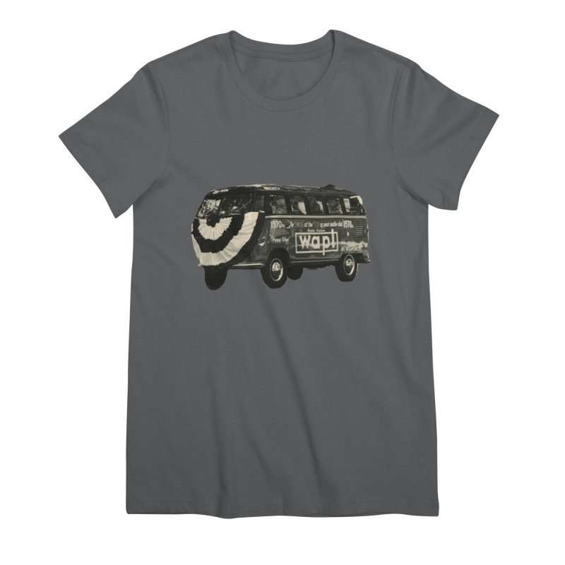 "WAPL-AM ""Old School"" Bus Women's T-Shirt by 105.7 WAPL Store"