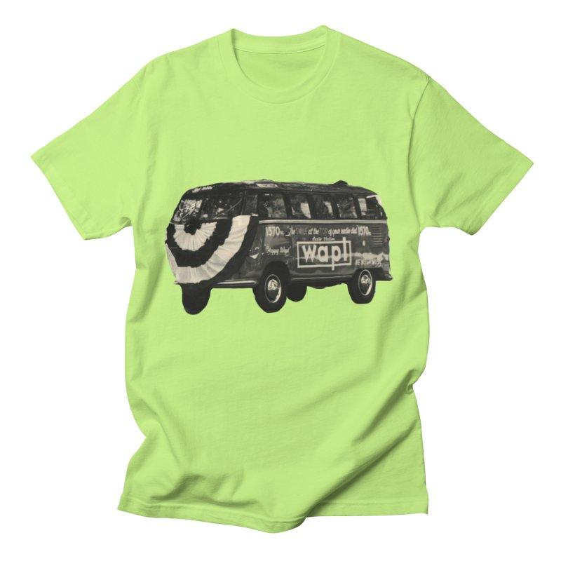 "WAPL-AM ""Old School"" Bus Men's T-Shirt by 105.7 WAPL Store"