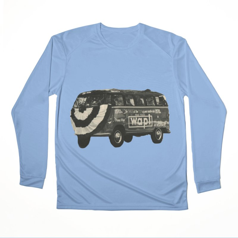 "WAPL-AM ""Old School"" Bus Men's Longsleeve T-Shirt by 105.7 WAPL Store"