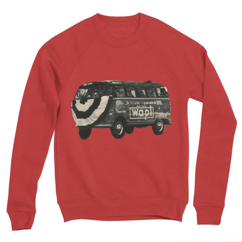 """WAPL-AM """"Old School"""" Bus Men's Sweatshirt by 105.7 WAPL Store"""