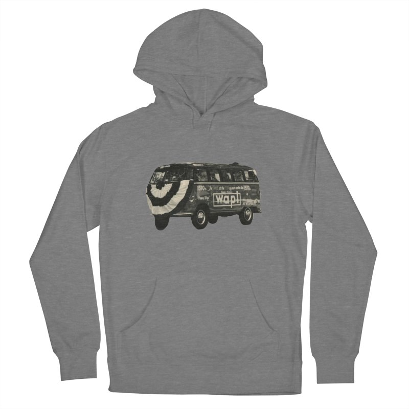 "WAPL-AM ""Old School"" Bus Men's Pullover Hoody by 105.7 WAPL Store"