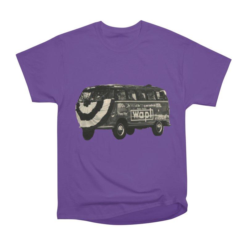 "WAPL-AM ""Old School"" Bus Women's Heavyweight Unisex T-Shirt by 105.7 WAPL Web Store"