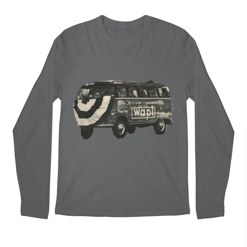 "WAPL-AM ""Old School"" Bus Men's Longsleeve T-Shirt by 105.7 WAPL Store"