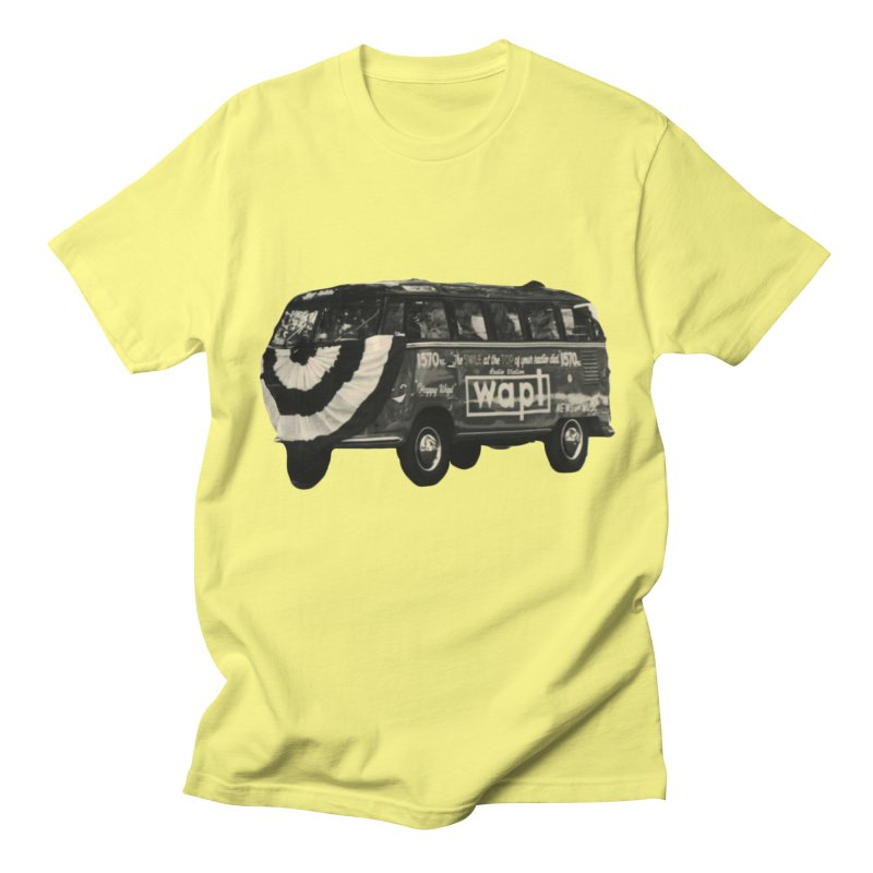 "WAPL-AM ""Old School"" Bus Men's T-Shirt by 105.7 WAPL Store"