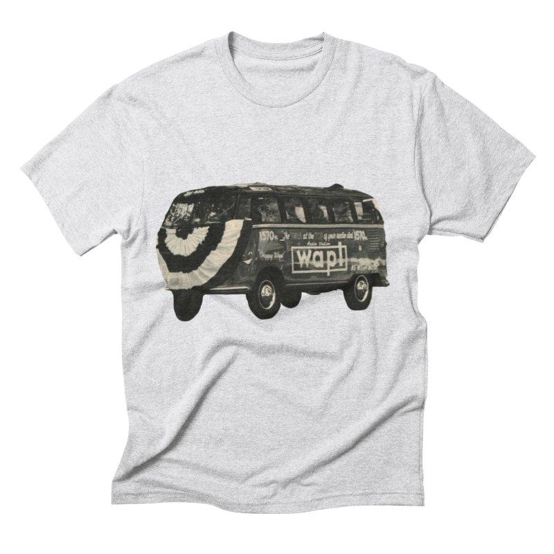 "WAPL-AM ""Old School"" Bus Men's Triblend T-Shirt by 105.7 WAPL Web Store"