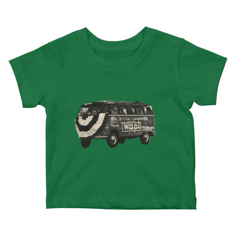 "WAPL-AM ""Old School"" Bus Kids Baby T-Shirt by 105.7 WAPL Web Store"