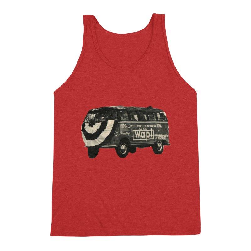 "WAPL-AM ""Old School"" Bus Men's Triblend Tank by 105.7 WAPL Web Store"