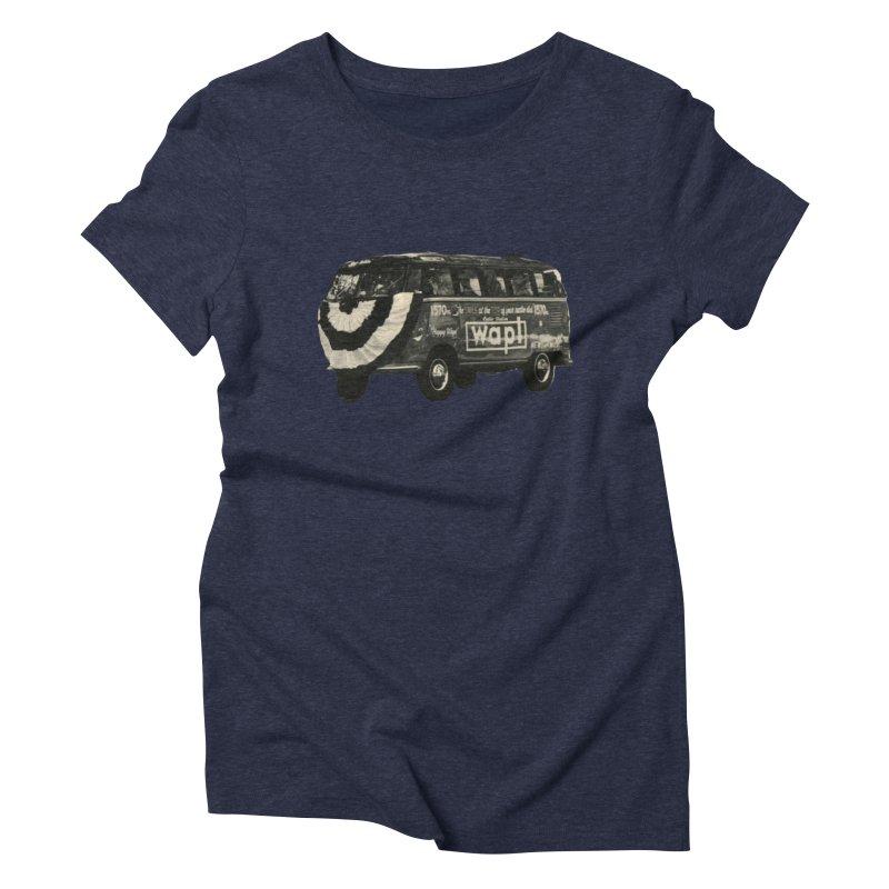 "WAPL-AM ""Old School"" Bus Women's T-Shirt by 105.7 WAPL Store"