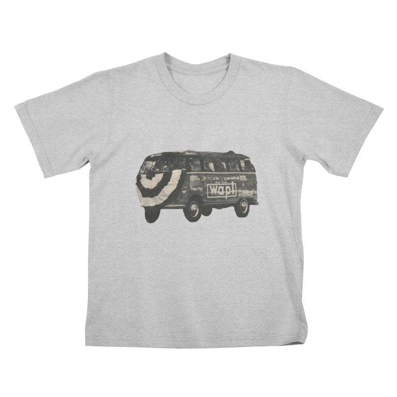 "WAPL-AM ""Old School"" Bus Kids T-Shirt by 105.7 WAPL Store"