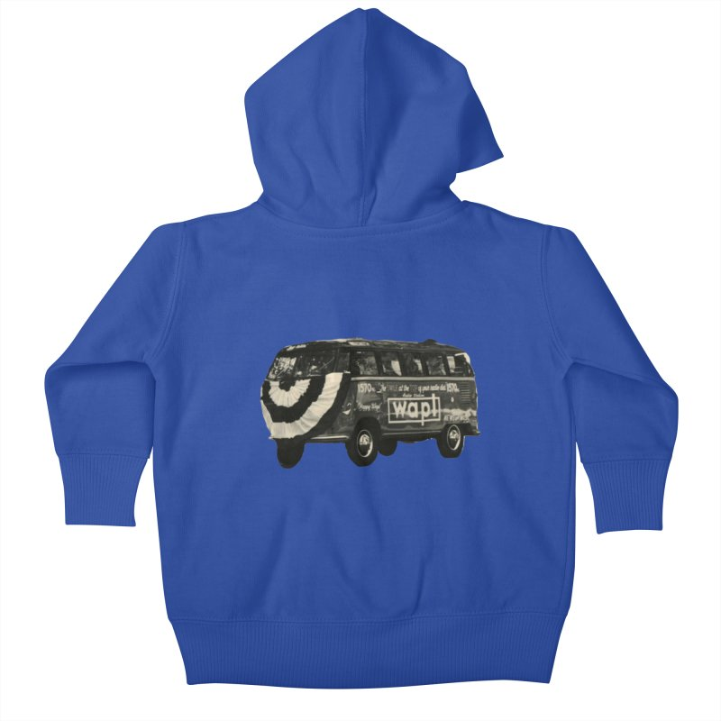 "WAPL-AM ""Old School"" Bus Kids Baby Zip-Up Hoody by 105.7 WAPL Store"