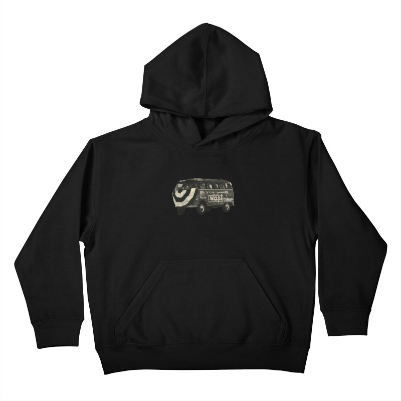 "WAPL-AM ""Old School"" Bus Kids Pullover Hoody by 105.7 WAPL Web Store"