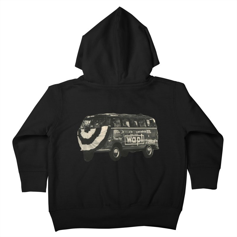 "WAPL-AM ""Old School"" Bus Kids Toddler Zip-Up Hoody by 105.7 WAPL Web Store"