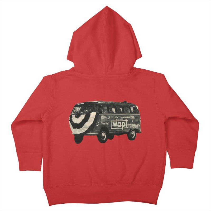 """WAPL-AM """"Old School"""" Bus Kids Toddler Zip-Up Hoody by 105.7 WAPL Store"""