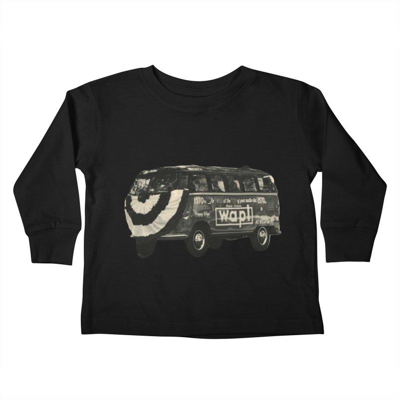 "WAPL-AM ""Old School"" Bus Kids Toddler Longsleeve T-Shirt by 105.7 WAPL Store"