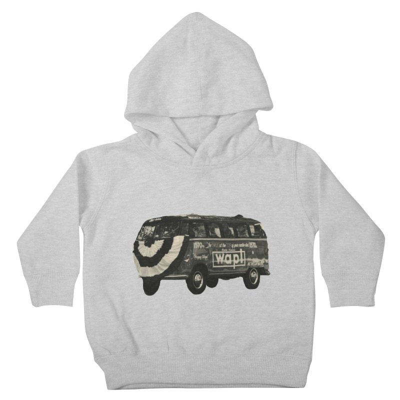 """WAPL-AM """"Old School"""" Bus Kids Toddler Pullover Hoody by 105.7 WAPL Store"""