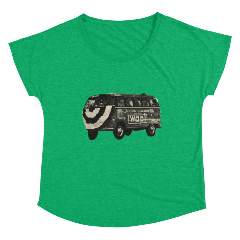 "WAPL-AM ""Old School"" Bus Women's Scoop Neck by 105.7 WAPL Store"