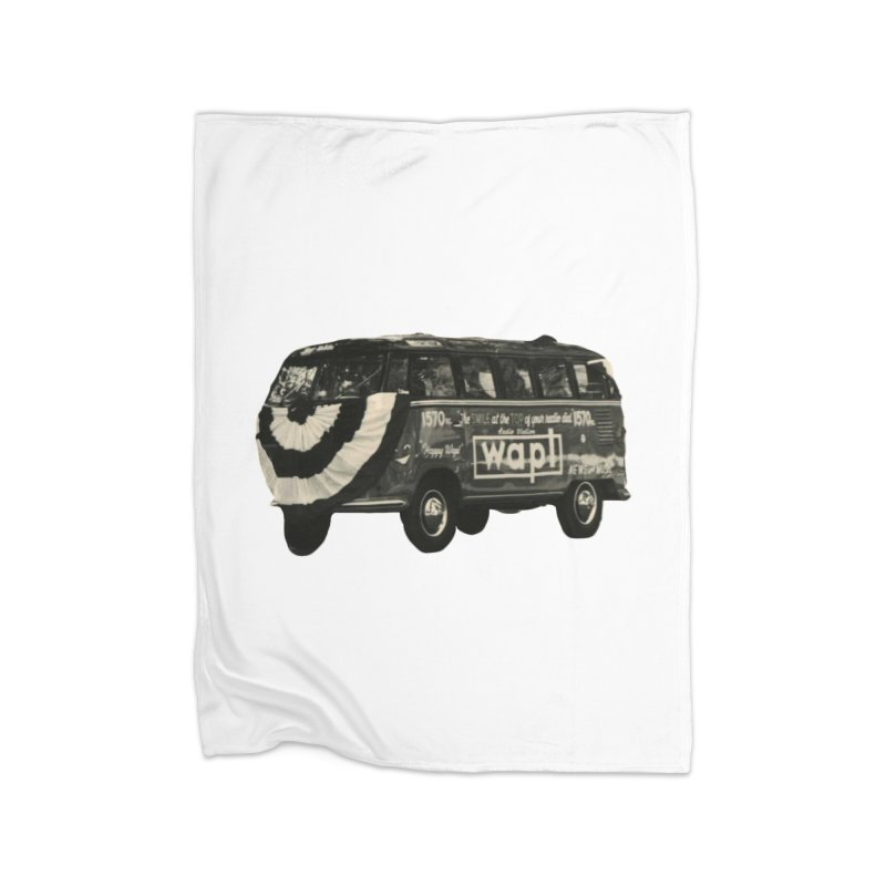 "WAPL-AM ""Old School"" Bus Home Blanket by 105.7 WAPL Store"