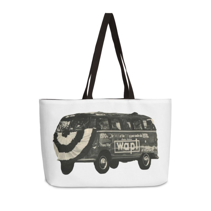 "WAPL-AM ""Old School"" Bus Accessories Bag by 105.7 WAPL Store"