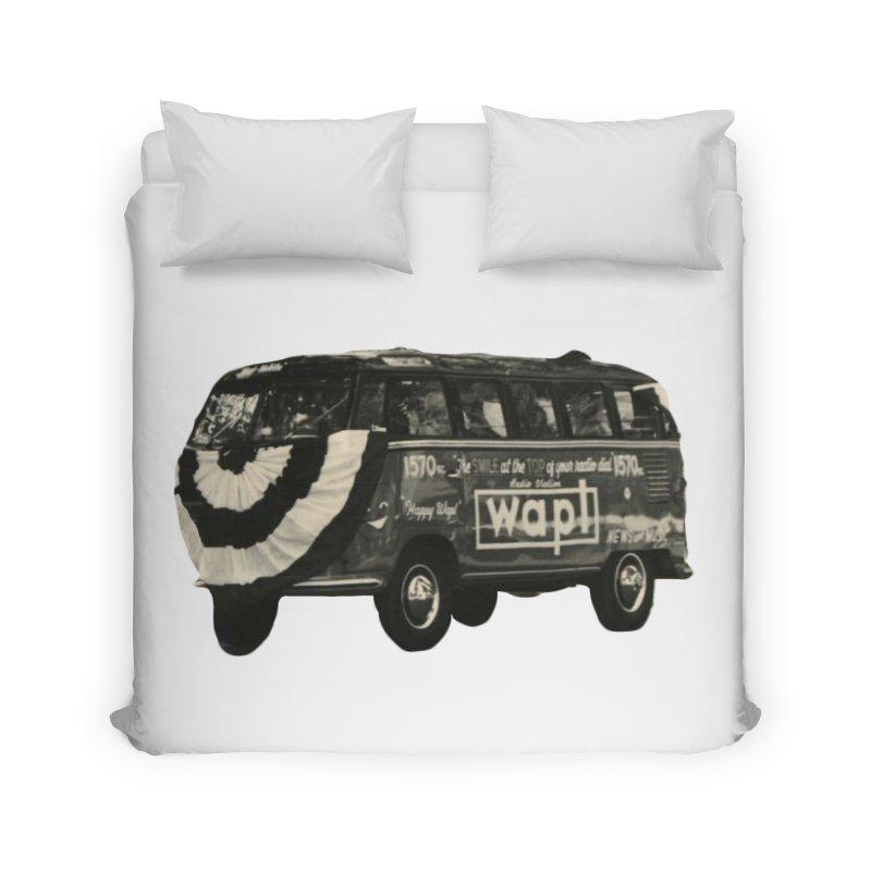 "WAPL-AM ""Old School"" Bus Home Duvet by 105.7 WAPL Web Store"