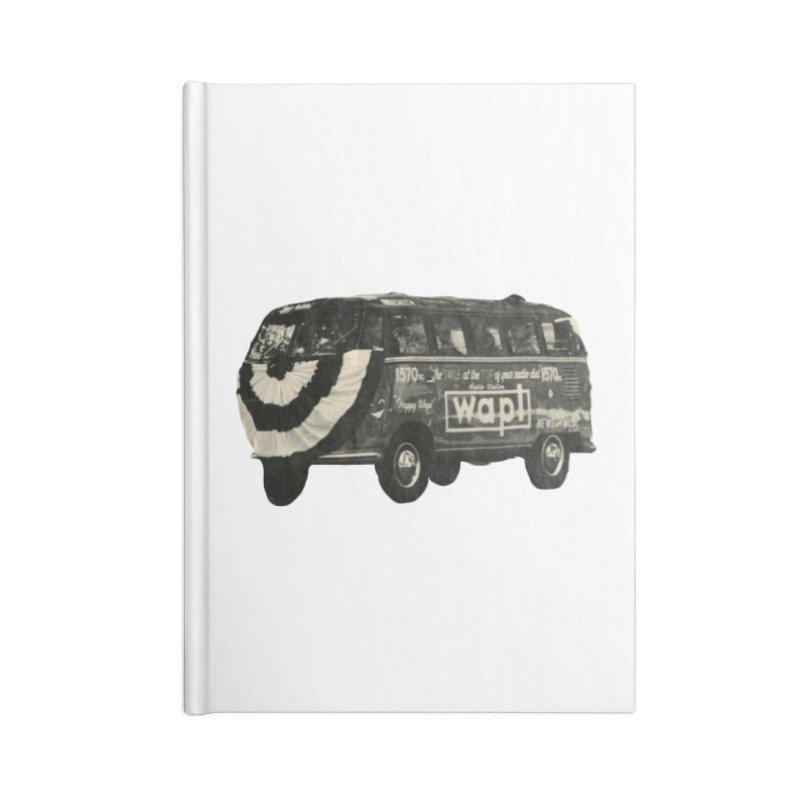 "WAPL-AM ""Old School"" Bus Accessories Notebook by 105.7 WAPL Store"