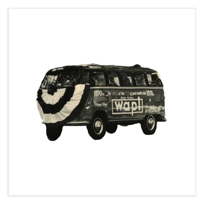 "WAPL-AM ""Old School"" Bus Home Fine Art Print by 105.7 WAPL Store"