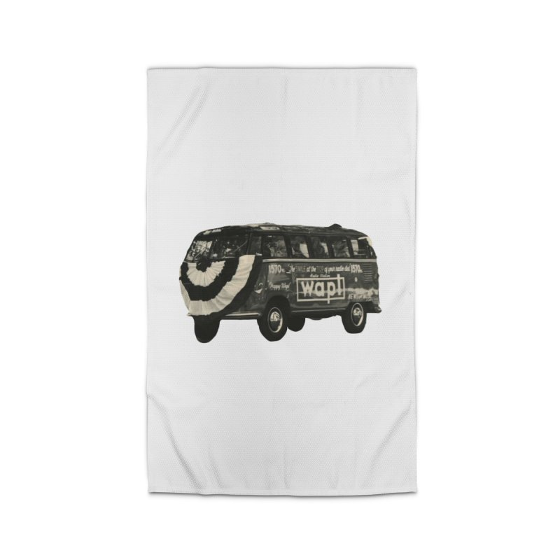 "WAPL-AM ""Old School"" Bus Home Rug by 105.7 WAPL Store"