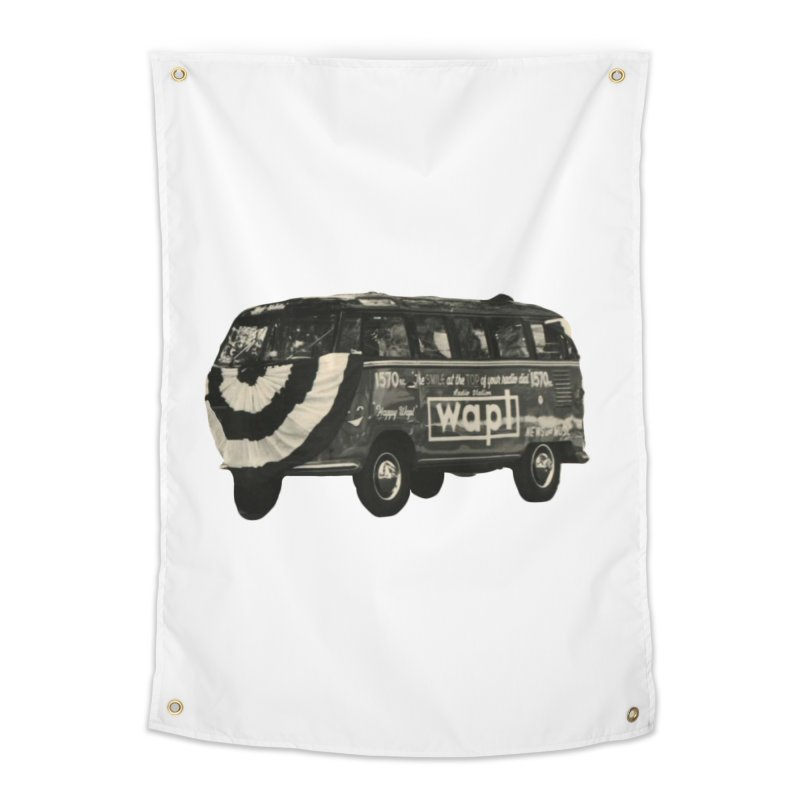 """WAPL-AM """"Old School"""" Bus Home Tapestry by 105.7 WAPL Store"""