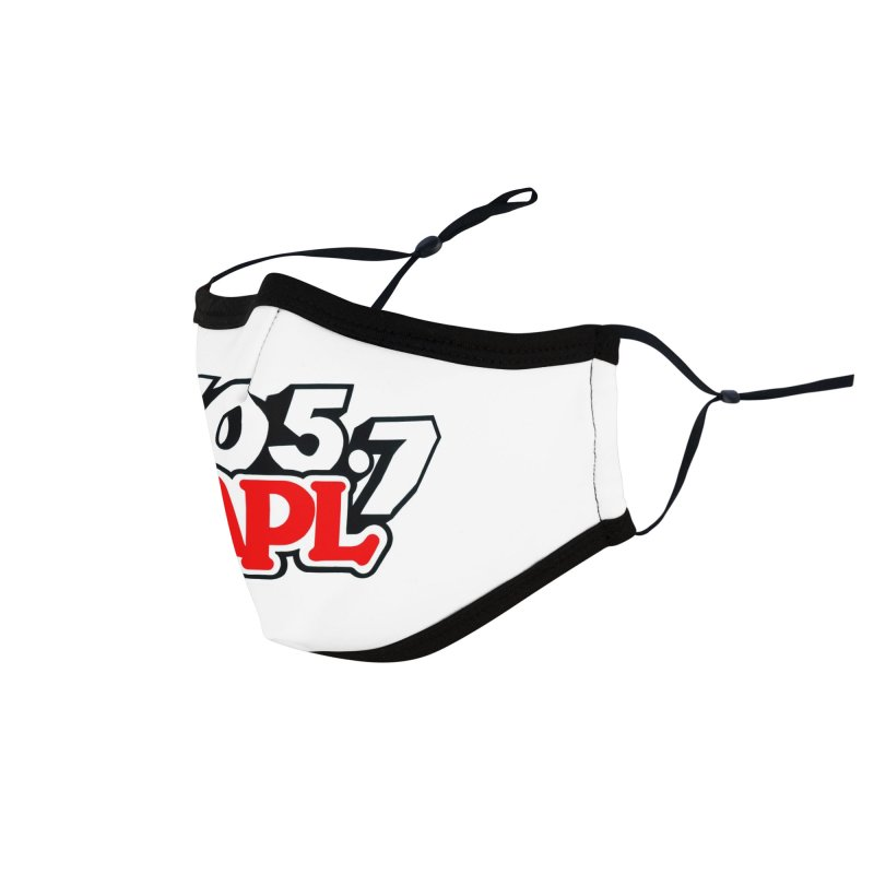 WAPL 90s Logo Accessories Face Mask by 105.7 WAPL Store