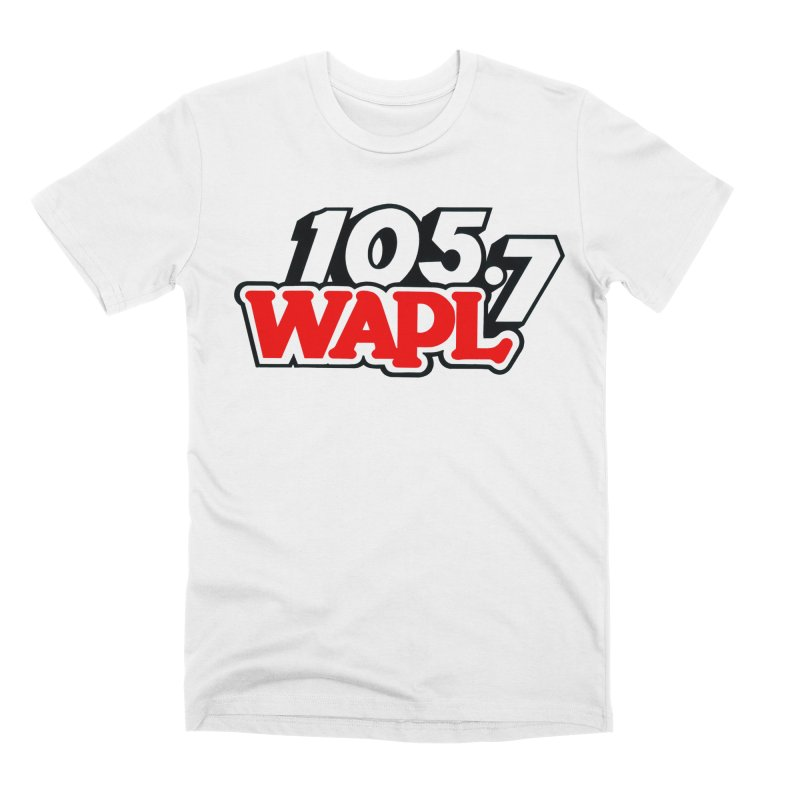 WAPL 90s Logo Men's T-Shirt by 105.7 WAPL Store