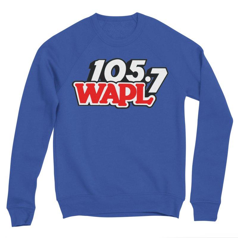 WAPL 90s Logo Men's Sweatshirt by 105.7 WAPL Store