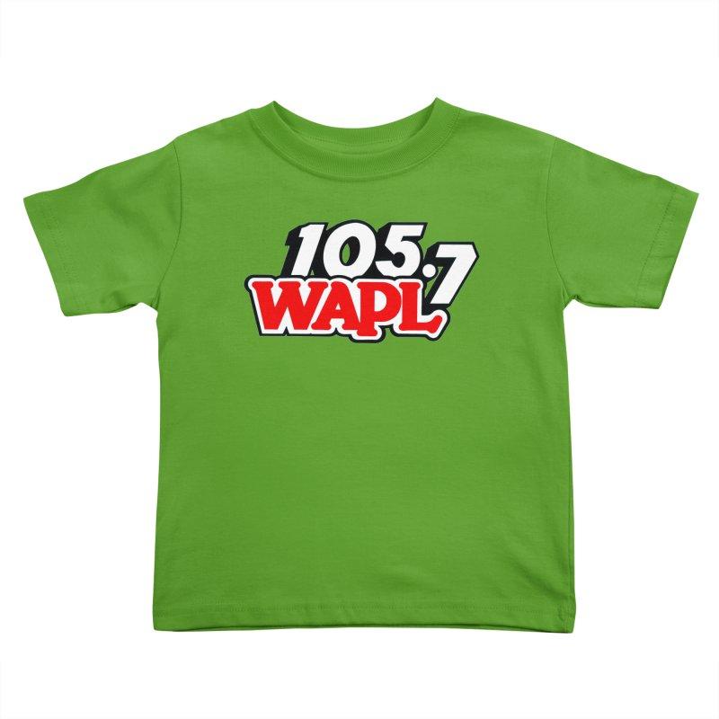 WAPL 90s Logo Kids Toddler T-Shirt by 105.7 WAPL Store