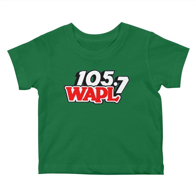 WAPL 90s Logo Kids Baby T-Shirt by 105.7 WAPL Store