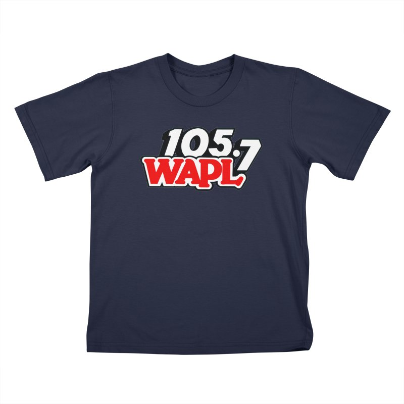 WAPL 90s Logo Kids T-Shirt by 105.7 WAPL Store