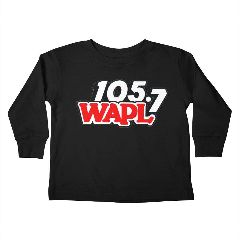 WAPL 90s Logo Kids Toddler Longsleeve T-Shirt by 105.7 WAPL Store